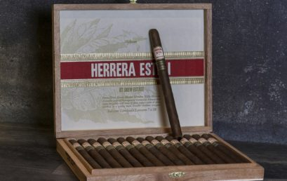 The Herrera Esteli Habano Edicion Limitada Lancero Returns to Drew Diplomat Retailers