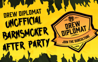 Join Riverside Cigars and Jonathan Drew for the Unofficial and Unsanctioned Drew Diplomat Barn Smoker After Party!