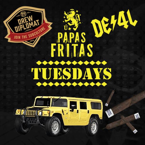 Papas Fritas Tuesdays!